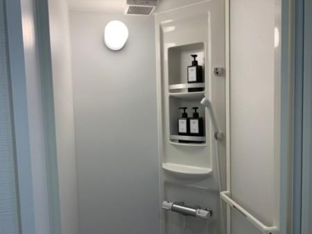 お風呂場の他にシャワー室があります