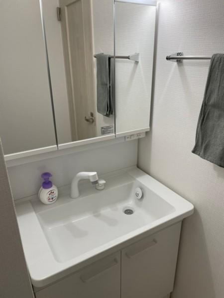 洗面台は3ヵ所あります
