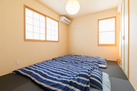 敷布団が3組敷ける1階和室