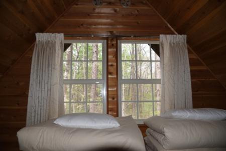 寝室は布団が素敵な素敵な睡眠の始まり