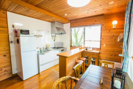 使いやすいキッチンと揃った調理用品