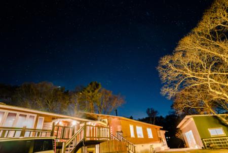 八ヶ岳南麓の満天の星空
