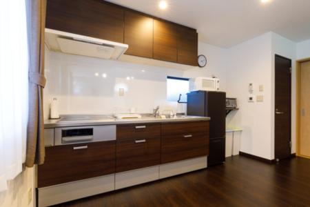 2F設備の整ったキッチン