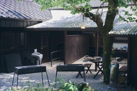 熊野四季亭の中庭