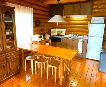 キッチンには豊富な調理器具をご用意