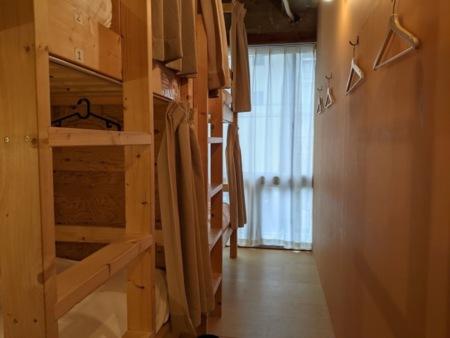 2段ベッドが2台4名様でご利用出来ます