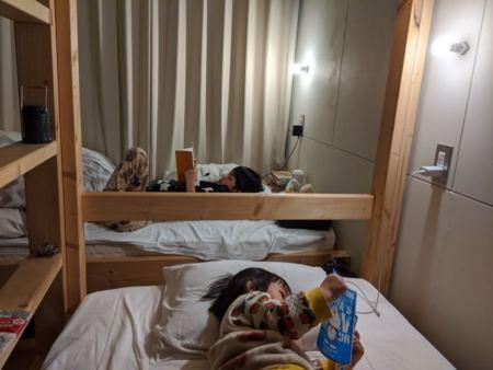 1組貸し切りの宿は家族での宿泊にも最適