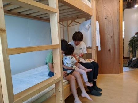 2段ベッドはお子様にも人気