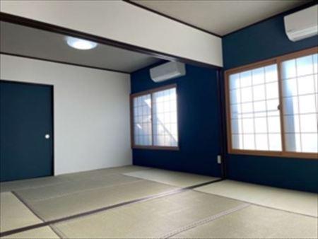 12畳広々とした和室研修も可能