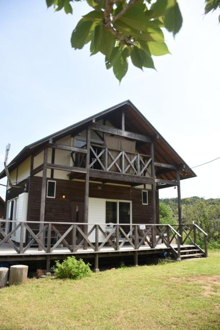 静かな別荘地にある一戸建です