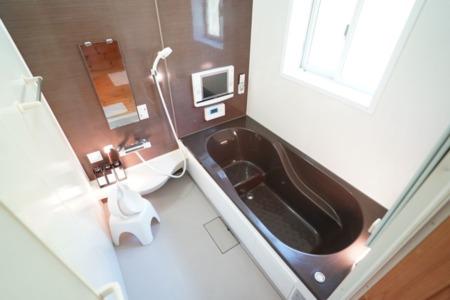 清潔で使いやすいバスルーム