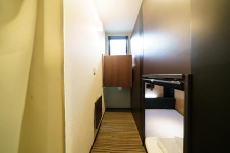 2階ベッドスペース内部です。