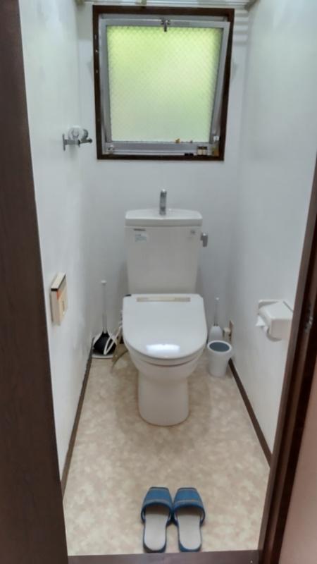 トイレは安心のウォシュレット!