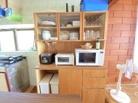 キッチン周りの家具も充実