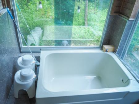 お風呂に入りながら自然を満喫