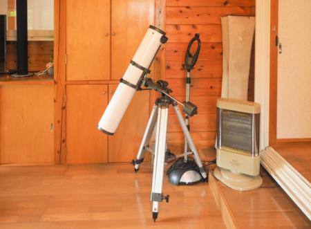 天体望遠鏡で夜空を探訪!