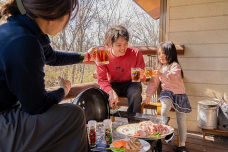 BBQが楽しめます!炭使い放題です!