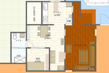 建物の間取り図