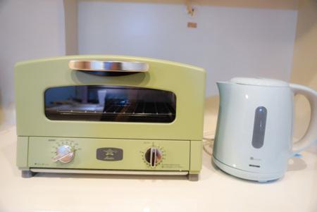 トースター、電子ポット