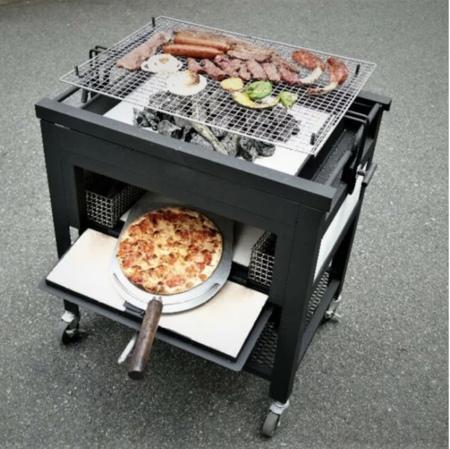 ピザ窯BBQコンロ