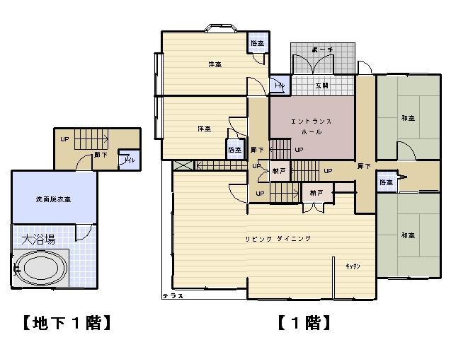 間取り設計図 プラン例 - frontier-world.co.jp